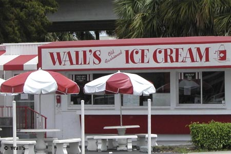 Walls Old-Fashioned Ice Cream