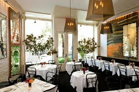 Dining room at Wallsé, New York, NY