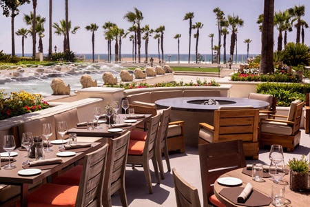 Hyatt Regency Huntington Beach's restaurant WATERTABLE features contemporary cuisine in a breezy, relaxed setting