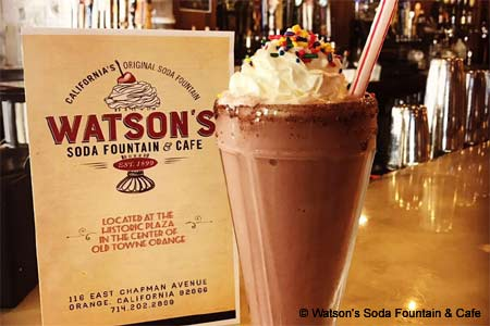 Watson's Soda Fountain & Cafe, Orange, CA
