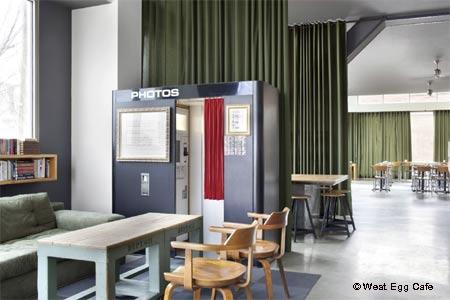 Dining Room at West Egg Cafe, Atlanta, GA