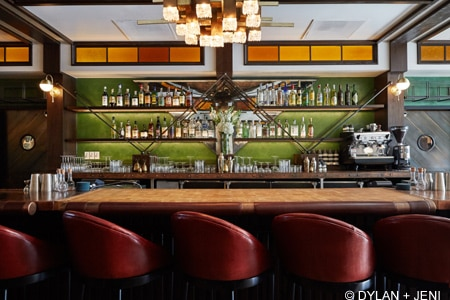Westbound brings cocktails from around the world and elevated bar snacks to the Arts District