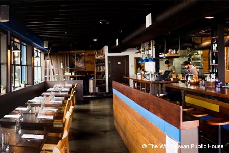 The White Swan Public House is one of Seattle's new restaurants. Find more on GAYOT's roundup.