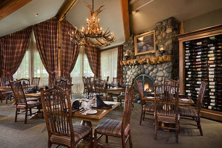 One of GAYOT's Top 10 Restaurants with the Best Food in Jackson Hole, Wild Sage offers American cuisine in a rustic space