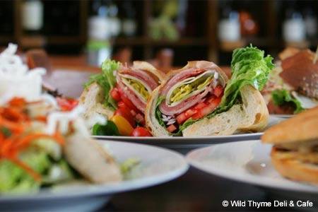 Wild Thyme Deli & Cafe, Marina, CA