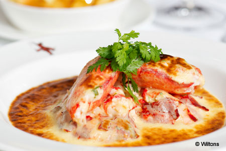 Enjoy some of London's best seafood at Wiltons restaurant
