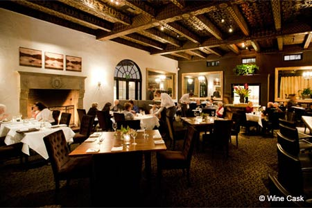 Dining room at Wine Cask, Santa Barbara, CA