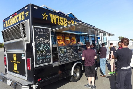 One of the Top 10 Food Trucks in Los Angeles, Wise Barbecue Co. offers Texas-style barbecue
