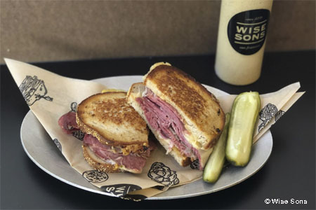 Wise Sons Jewish Delicatessen, one of GAYOT's Best Sandwich Shops in the San Francisco Bay Area