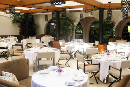 Dining Room at Wolfgang Puck at Hotel Bel-Air, Los Angeles, CA