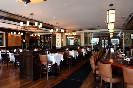 Dining Room at Wolfgang's Steakhouse by Wolfgang Zwiener, Beverly Hills, CA