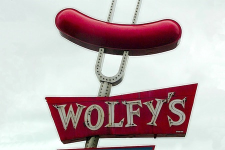 Wolfy's Hot Dogs, Chicago, IL