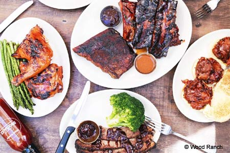 Enjoy some of San Diego's best barbecue at Wood Ranch BBQ & Grill