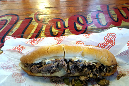 Woody's Famous Philadelphia Cheesesteaks, Atlanta, GA
