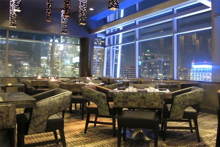 Dining Room at WP24 by Wolfgang Puck, Los Angeles, CA