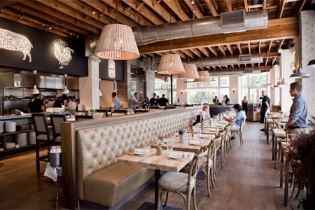 Dining room at Yardbird Southern Table & Bar, Miami Beach, FL