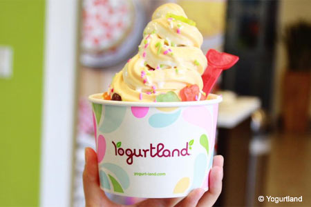 Yogurtland, Los Angeles, CA