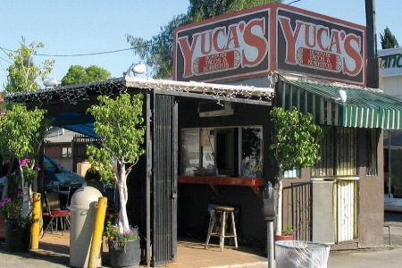 Dining room at Yuca's Hut, Los Angeles, CA