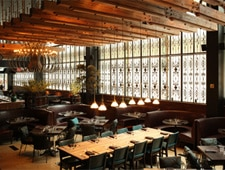 Dining room at Zengo, New York, NY