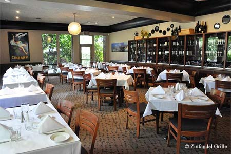 Zinfandel Grille has one of the highest food ratings in Sacramento
