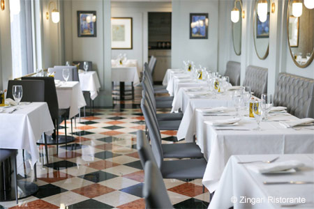 Dining Room at Zingari Ristorante, San Francisco, CA