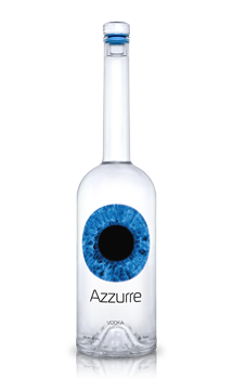 Azzurre Vodka is made from all natural ingredients