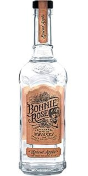 Bonnie Rose Spiced Apple flavored whiskey is made from 100 percent white corn