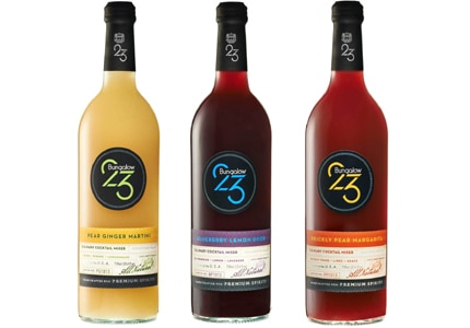 Bungalow 23 uses ingredients from all over the globe to create their mixers