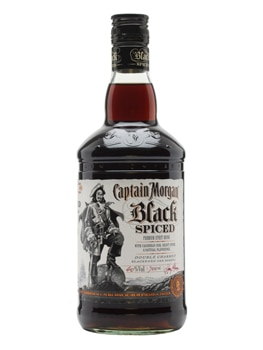 Captain Morgan Black Spiced Rum is a darker, bolder version of the traditional spiced rum