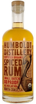 Humboldt Distillery's Spiced Rum is 100 percent certified organic