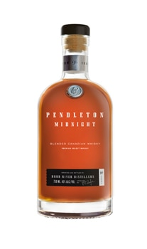 Pendleton Midnight whiskey is distilled in Mt. Hood Oregon