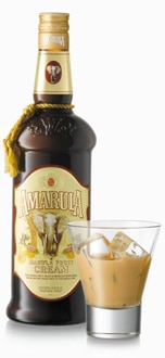 Amarula Cream Liqueur is made from the fruit of the marula tree