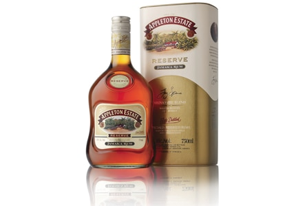 Appleton Estate Reserve Jamaica Rum is made at the oldest sugar estate and distillery in Jamaica
