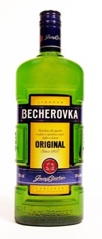 Becherovka liqueur has been produced in the Czech city of Carlsbad since 1807