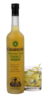 Charbay Green Tea Vodka has captured the essence of green tea