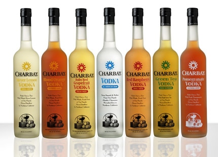 Charbay Vodka is personally hand-distilled by a 12th- and 13th-generation father and son team