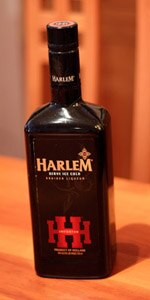 A bottle of Harlem liqueur, an herb-based liqueur imported from Holland