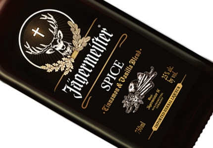 Jagermeister Spice adds a touch of vanilla and cinnamon to the herbal liqueur's original recipe