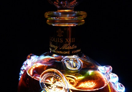 Louis XIII de Remy Martin is a blend of 1,200 Cognacs, ranging from 40 to 100 years old