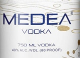 Medea Vodka is produced in Schiedam, Netherlands