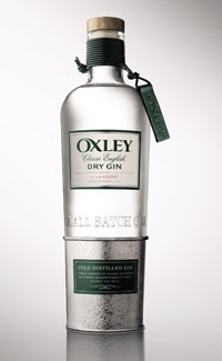 Oxley Dry Gin is the first cold-distilled spirit