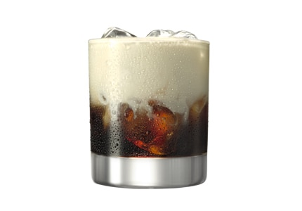 Stand proud and start off your night with a White Russian made with Kahlúa