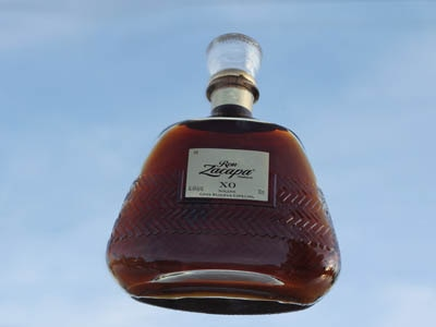 A bottle of Ron Zacapa XO, one of our 2011 Top 10 Spirits