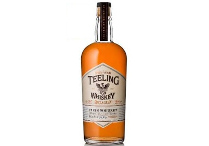 Teeling Single Grain Irish Whiskey has flavors of spices, red berries and grapes