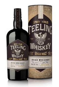 Teeling Whiskey Single Malt is made from 100 percent malted barley