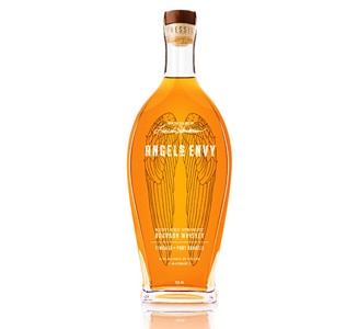 Angel's Envy Kentucky Straight Bourbon Whiskey is finished in Port barrels