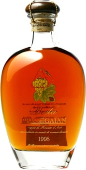 Distillerie Berta Bric del Gaian 1998 Moscato d'Asti Grappa is one of the most aromatic grappas ever made