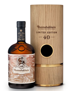 Bunnahabhain 40 Year Old Scotch is the product of a lucky discovery