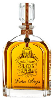 Herradura Seleccion Suprema Extra Anejo Tequila is aged for 49 months in American oak barrels