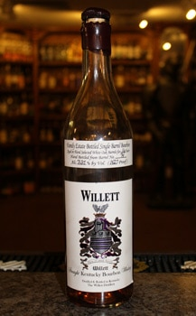The 16-Year-Old Willett Straight Kentucky Bourbon Whiskey 142.7 proof is the standard by which all other bourbons should be judged (Photo credit: Raiza Ferrer)